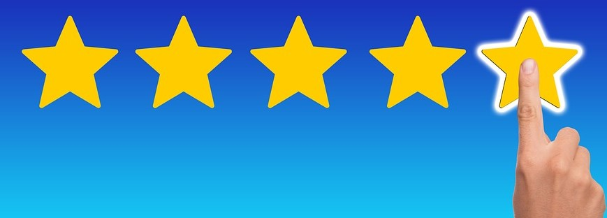 honest reviews from your customers help put potential clients at ease