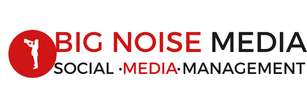 Full logo for Edmonton based SEO company Big Noise Media
