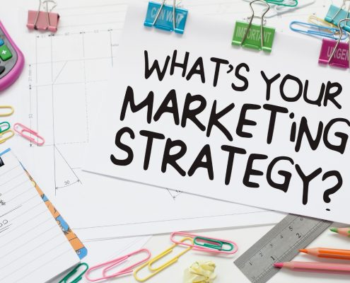 Image asking what is your marketing strategy? SEO tactics are the best